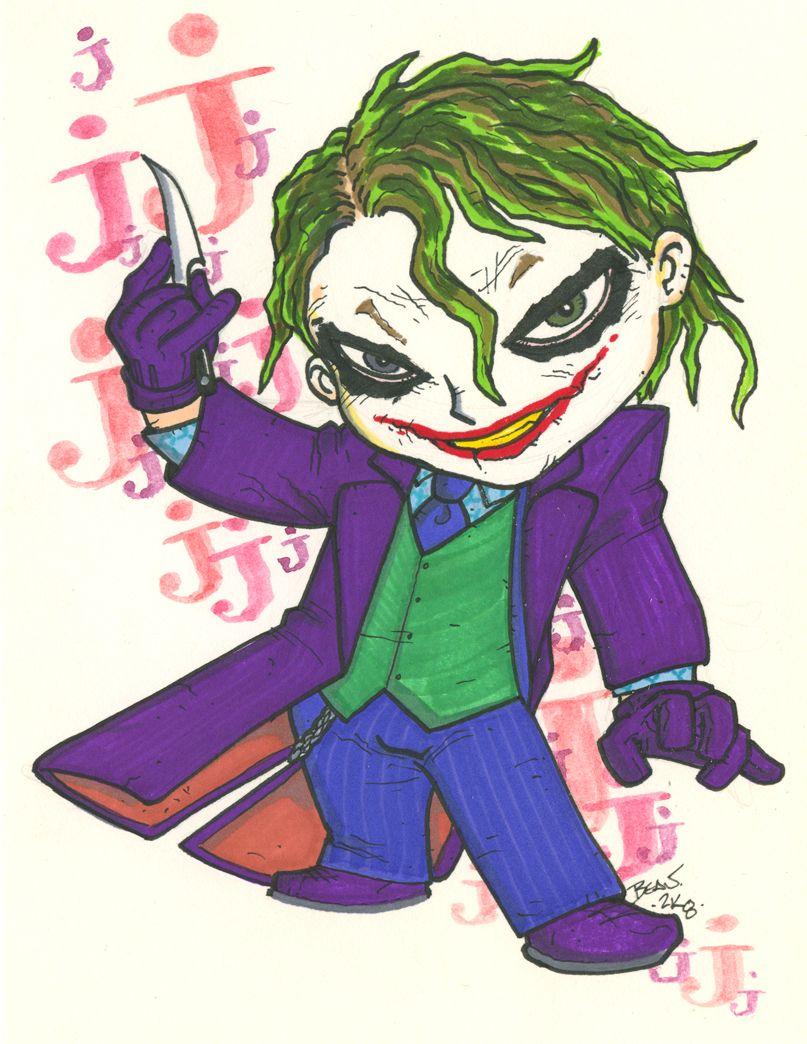 807x1044 Chibi Joker