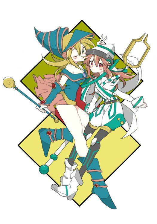525x750 dark magician girl and tuning magician anime drawing tips