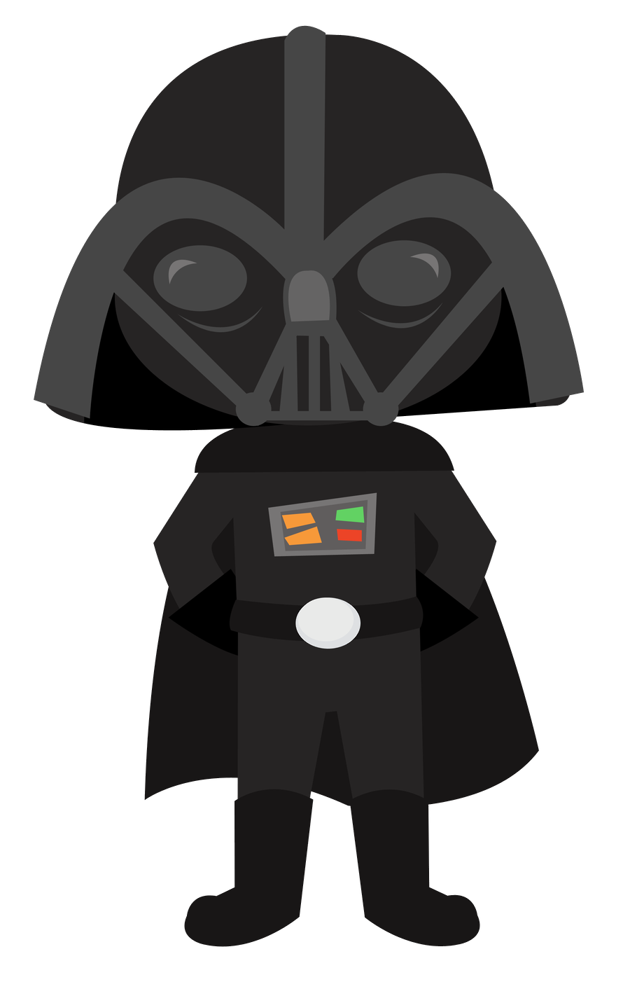 Darth Vader Cartoon Drawing