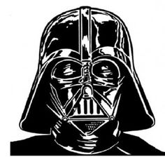 Darth Vader Face Drawing