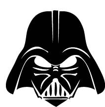 image relating to Darth Vader Printable Mask identify Darth Vader Facial area Drawing Absolutely free down load most straightforward Darth Vader