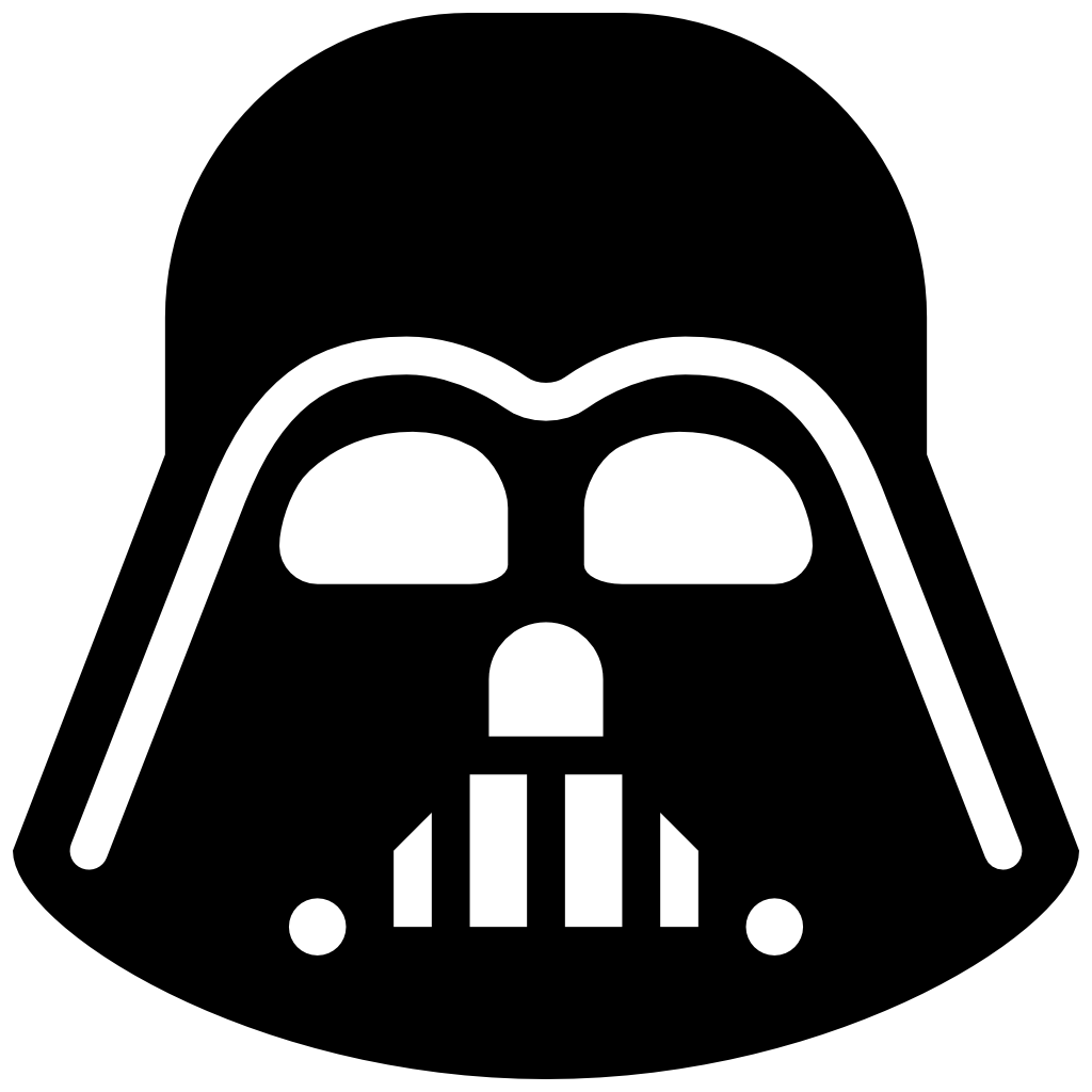 Darth Vader Head Drawing