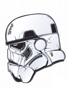 Darth Vader Helmet Drawing