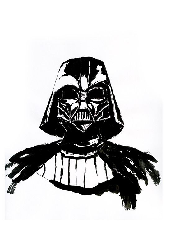 Darth Vader Lightsaber Drawing