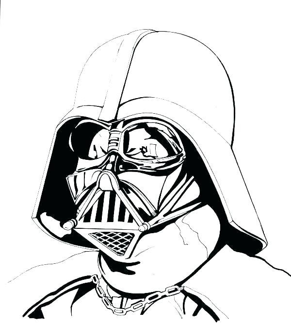 Darth Vader Mask Drawing Free Download On Clipartmag