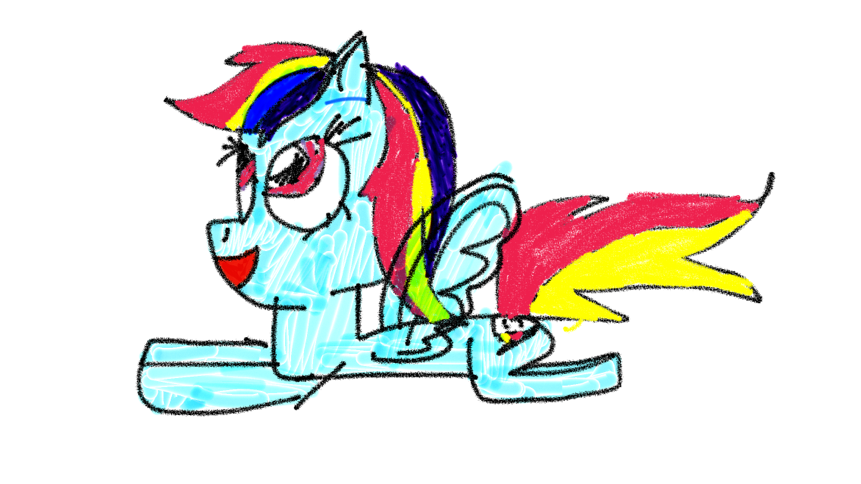 861x484 Rainbow Dash!!! Sorry Guys If My Drawing Are Not Good Enough