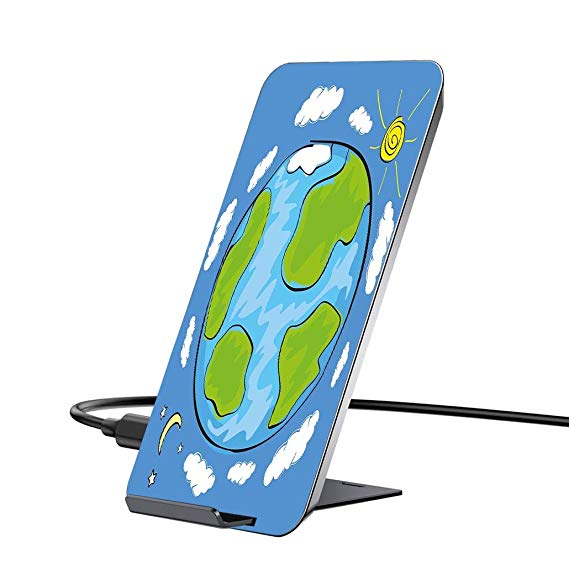 569x569 wireless charger and qi wireless receiver,earth