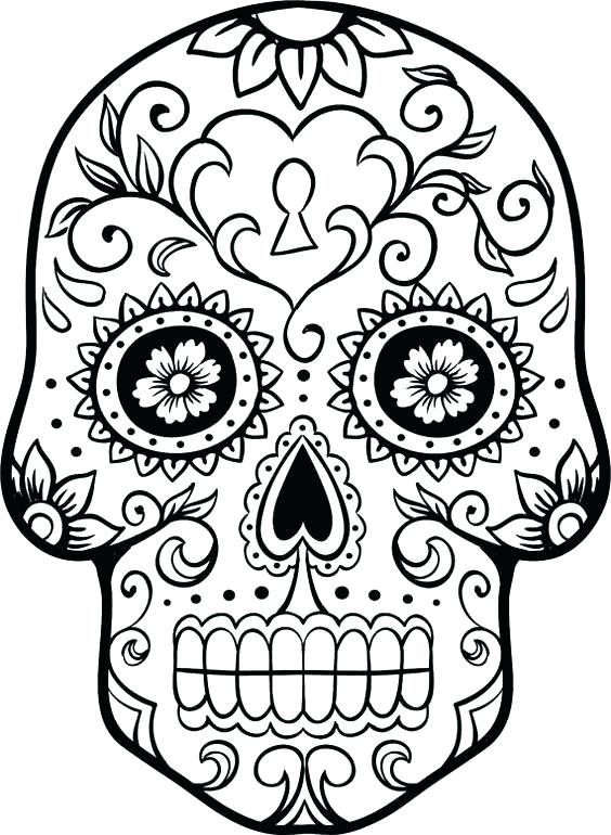 564x770 day of the dead coloring pages best of stock day of the dead girl