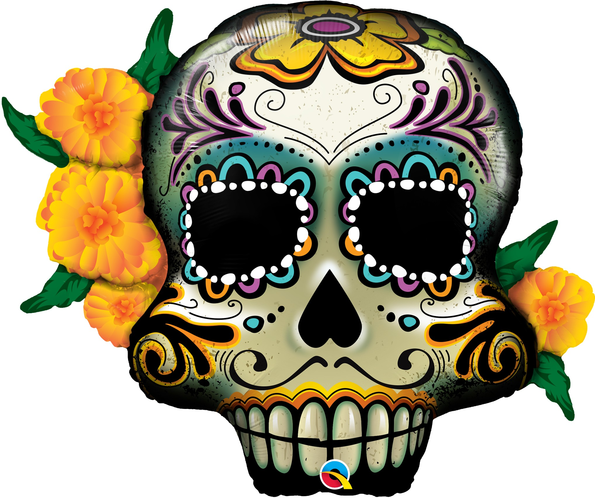 2036x1706 Day Of The Dead Skull Clipart At Getdrawings Com Free For Personal