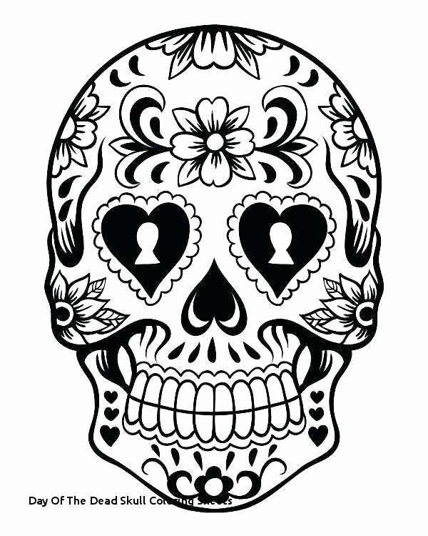Day Of The Dead Skull Drawings | Free download best Day Of The Dead ...