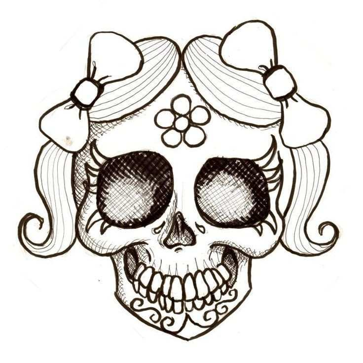 736x736 Day Of The Dead Skull Coloring
