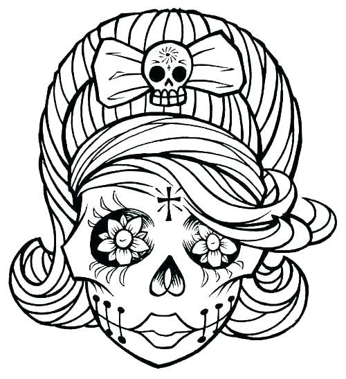 500x547 Inspirational Skull Drawings Drawing Inspirational Skull Drawings