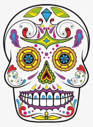 300x408 Sugar Skull Png Images Png Cliparts Free Download On Seekpng