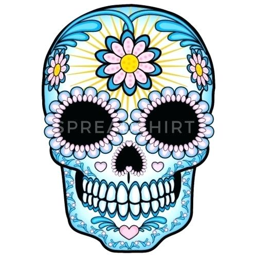 500x500 colorful sugar skulls design colorful sugar skull drawings