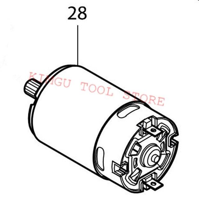 640x640 genuine dc motor for makita