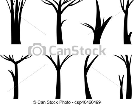 450x354 vector illustration tree trunk illustration tree trunk dead