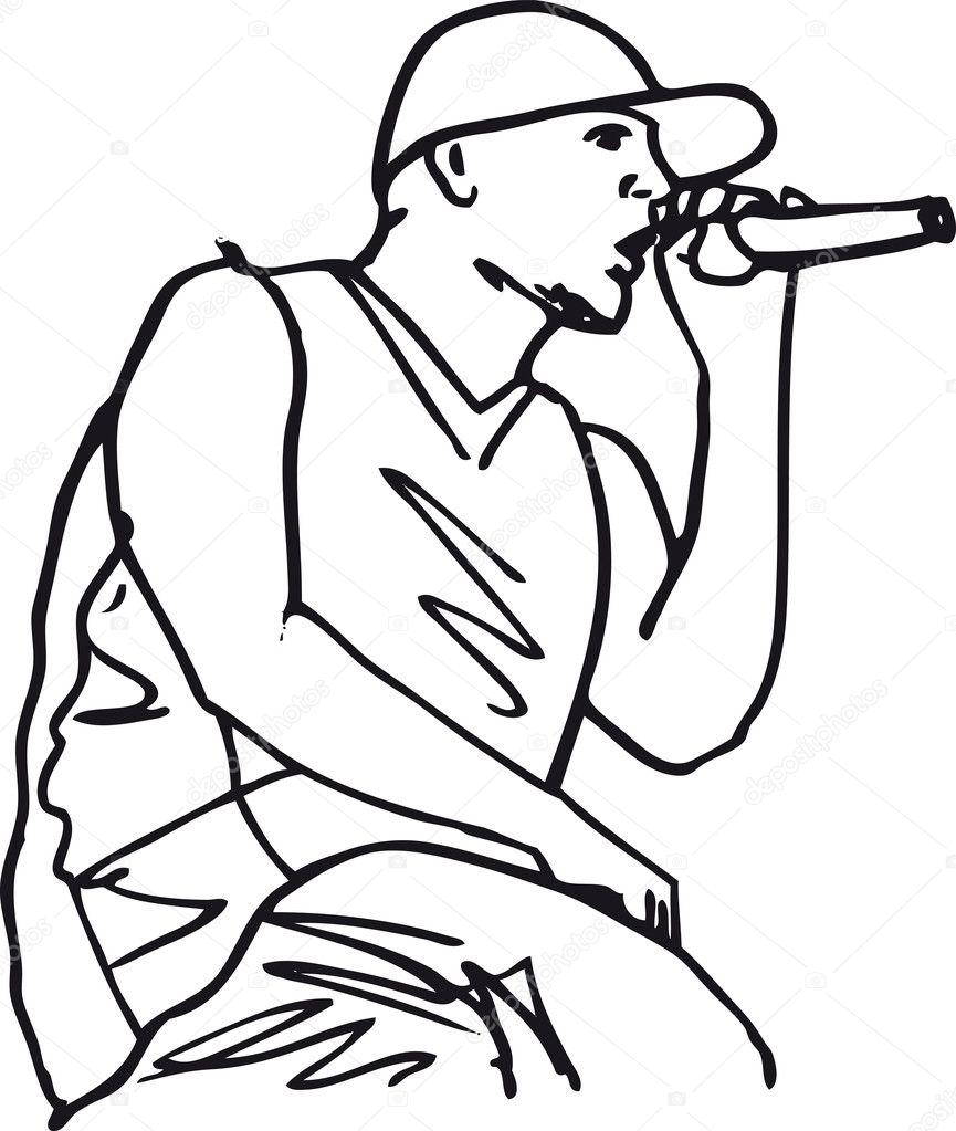 Dean Martin Drawing