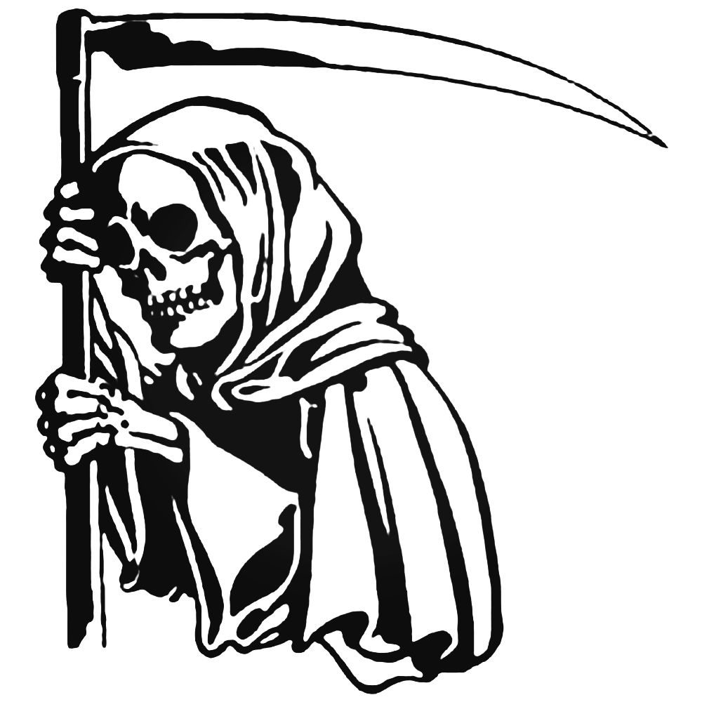 1000x1000 angel of death grim reaper decal sticker