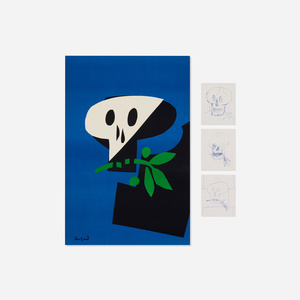 300x300 paul rand, death mask poster and drawings lt paul rand