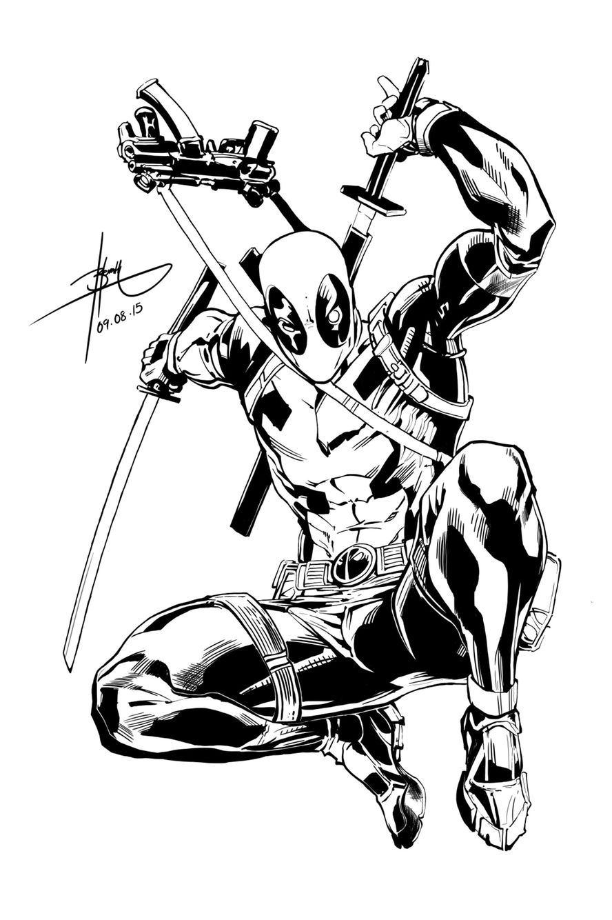 888x1334 Deadpool Digital Sketches Deadpool Art, Marvel Comics, Marvel Art