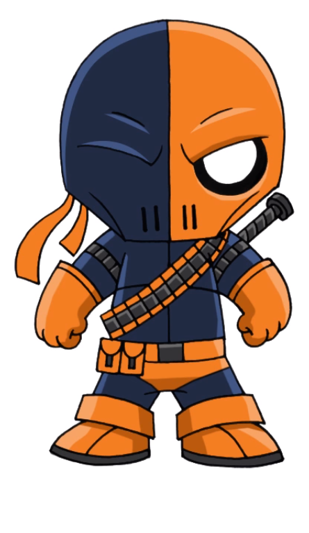 445x768 Deathstroke Drawing Deathstroke, Chibi, Deadshot