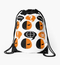 210x230 Deathstroke Drawing Drawstring Bags Redbubble