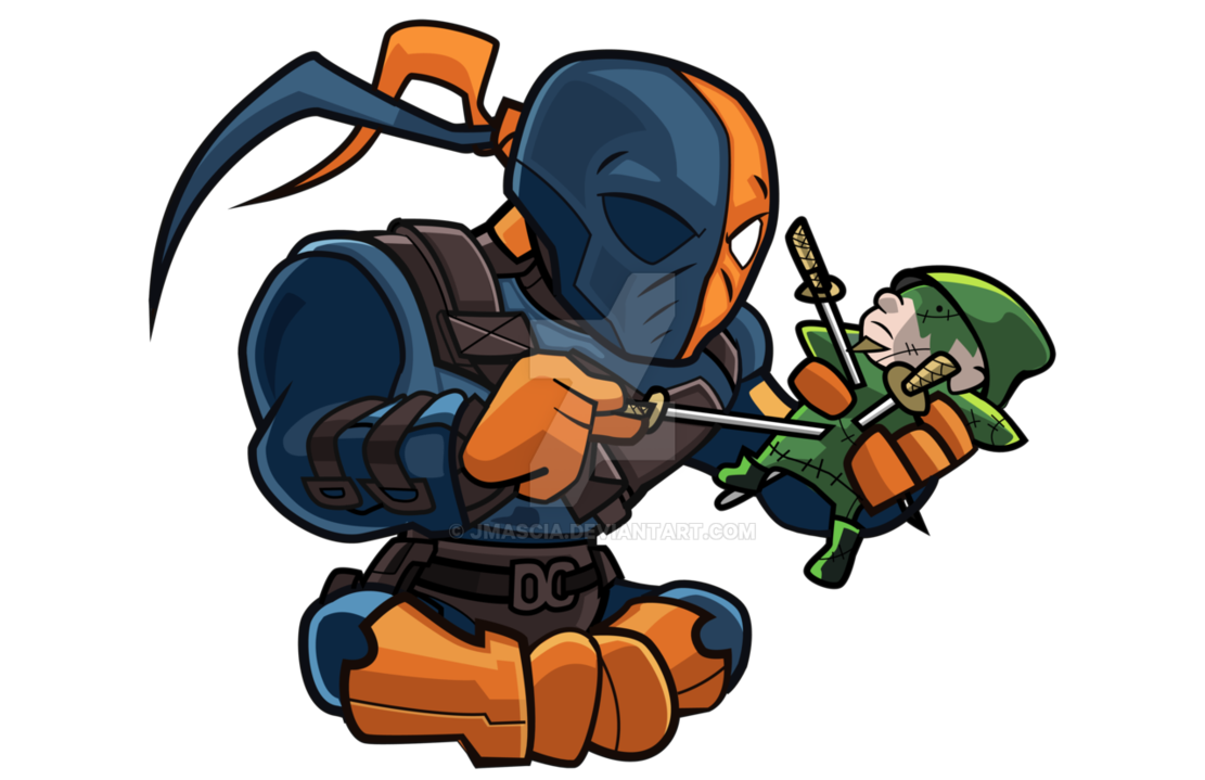 1111x719 Collection Of Free Chibi Drawing Deathstroke Download On Ui Ex