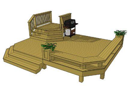 450x306 free deck plans deck designs