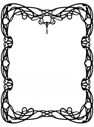 310x419 Collection Of Free Door Drawing Art Nouveau Download On Ui Ex
