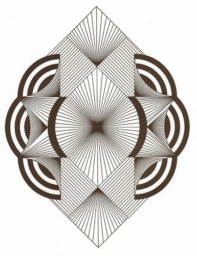 385x500 Zentangle Ala Art Deco Drawings Art, Drawings