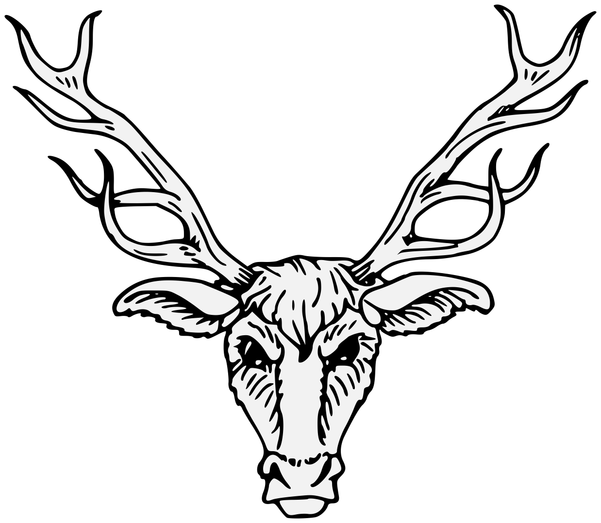 1238x1078 Cliparts For Free Download Antlers Clipart Draw And Use