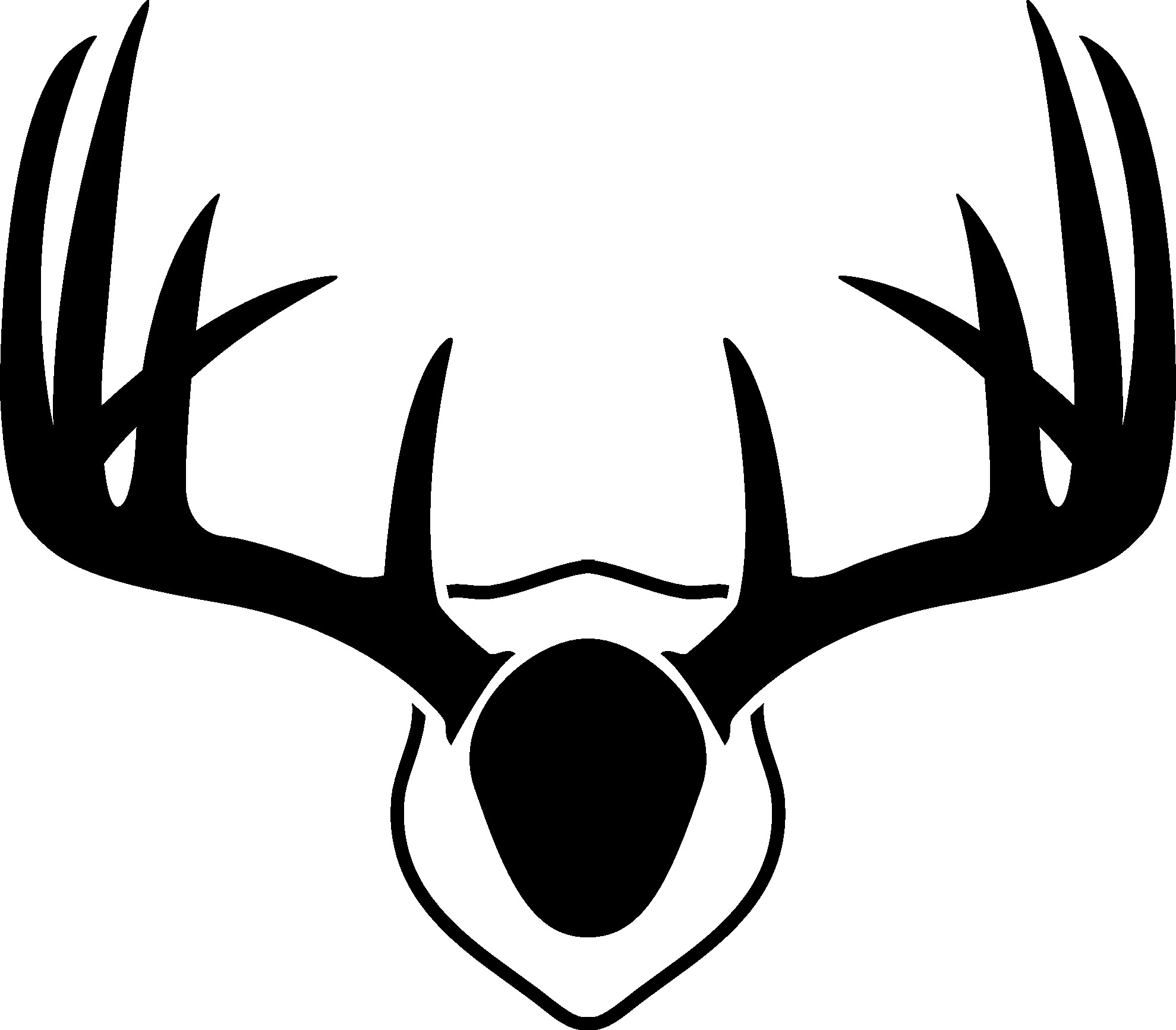 1979x1734 On How To Draw Deer Antlers