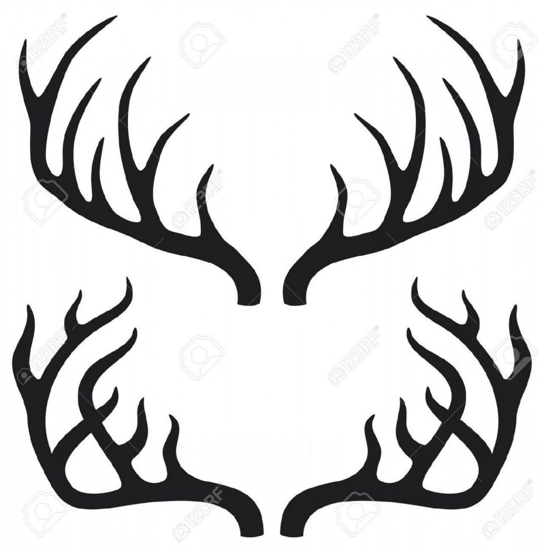 1084x1102 Reindeer Antler Dream Catcher Drawing Images Flowers Deer Easy
