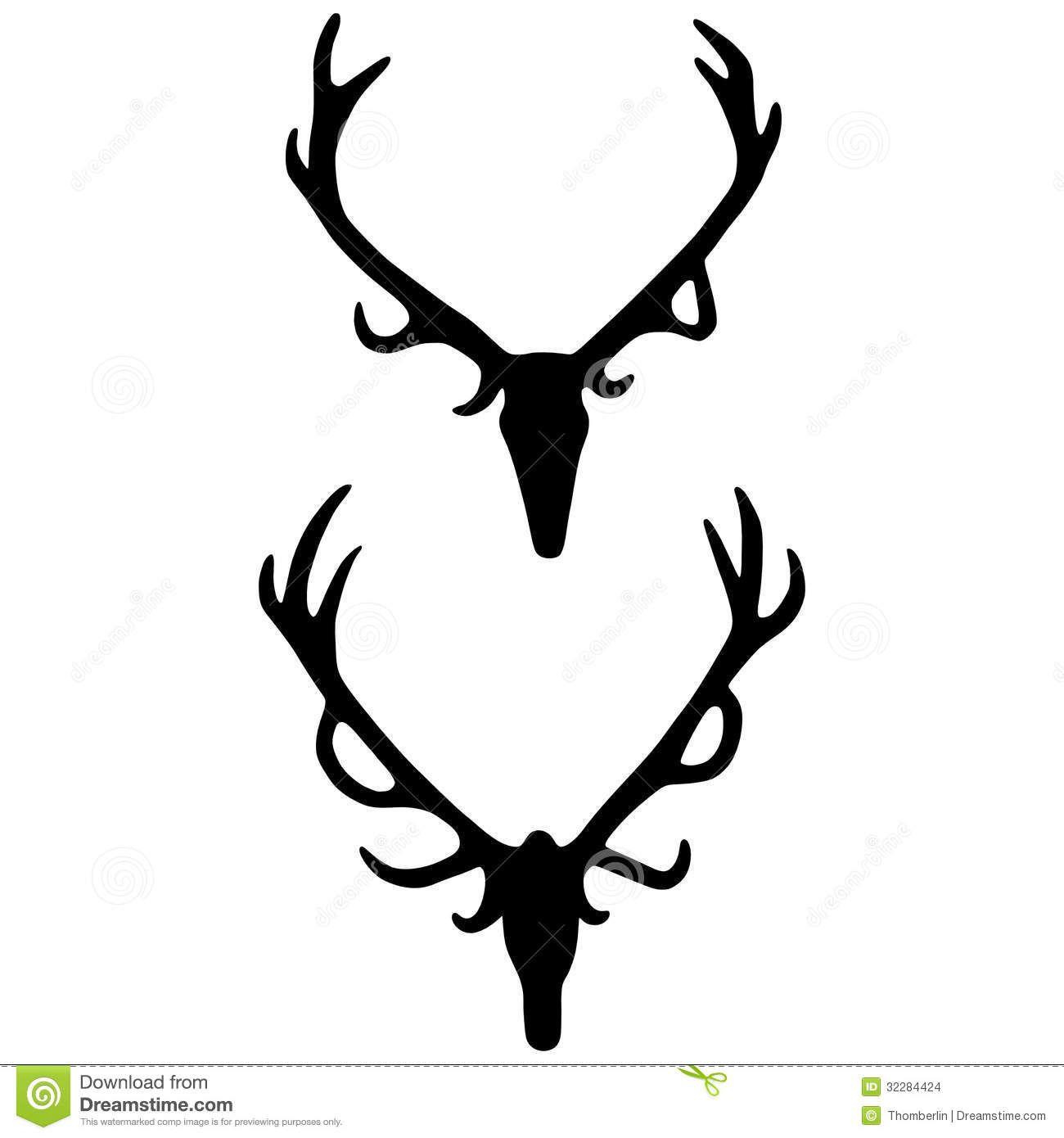 1300x1390 Antlers Vector Deer Drawings Deer Drawing, Skull Silhouette