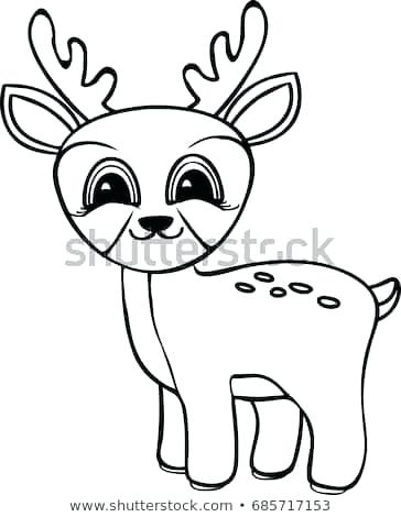 364x470 deer coloring pages funny cartoon baby deer coloring pages deer