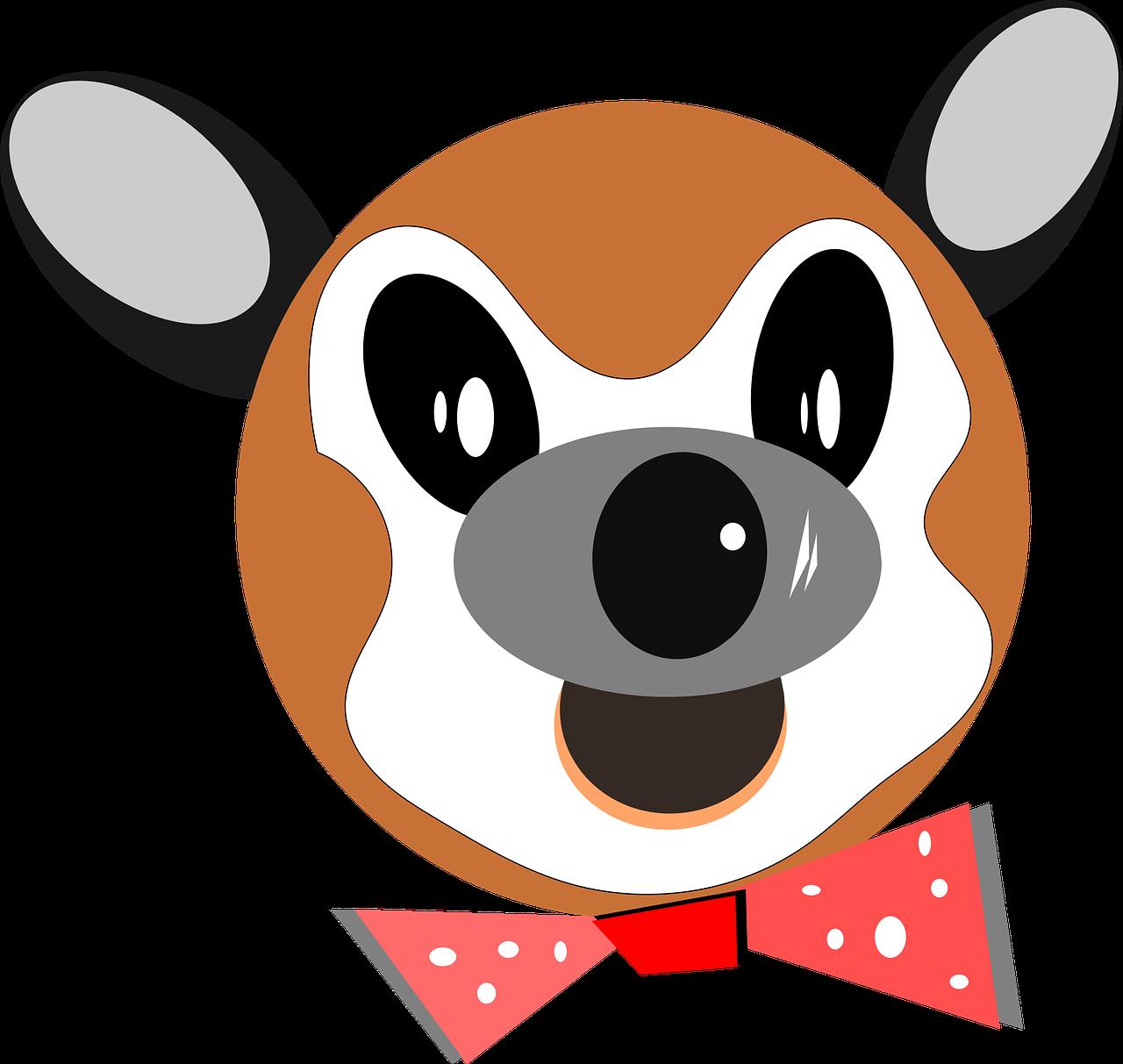 1280x1213 Animal, Deer, Cartoon, Toy, Face