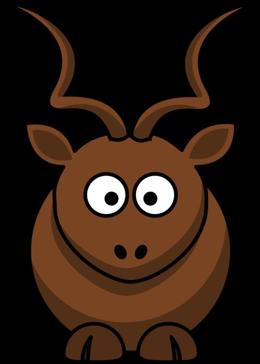 537x750 Antelope Pronghorn Kudu Cartoon Drawing Cc0
