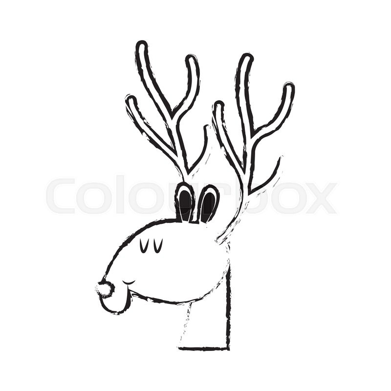 800x800 Collection Cute Deer Drawing Pictures