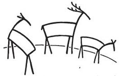 235x150 Awesome How To Draw Deer Images Sketches, Drawing S, Drawing