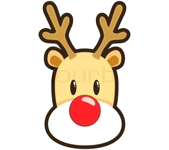 678x600 Drawing Of Reindeer How Reindeer Head Drawing Step