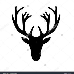 300x300 How To Draw A Deer Head Easy Archives