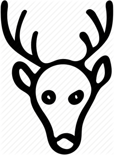 400x544 download free png animal, christmas deer, deer, deer face, deer