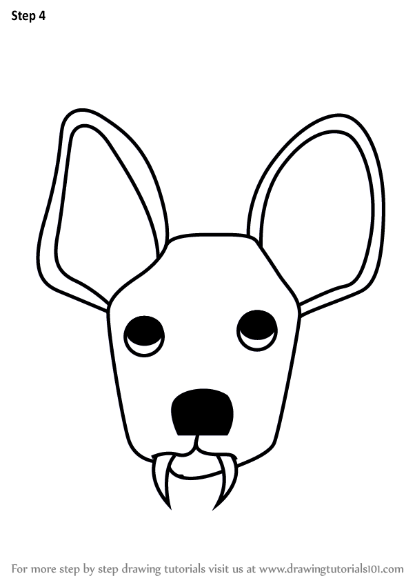 602x848 Learn How To Draw A Water Deer Face For Kids