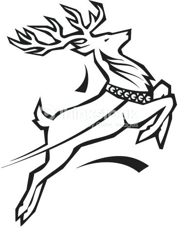 366x467 Raindeer Drawing Reindeer Contour Drawing Vector Reindeer Face