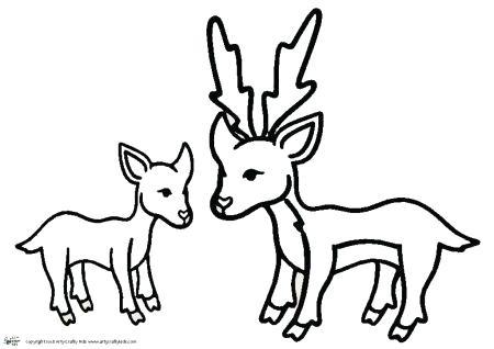 450x318 deer outline deer outline print art deer head outline png