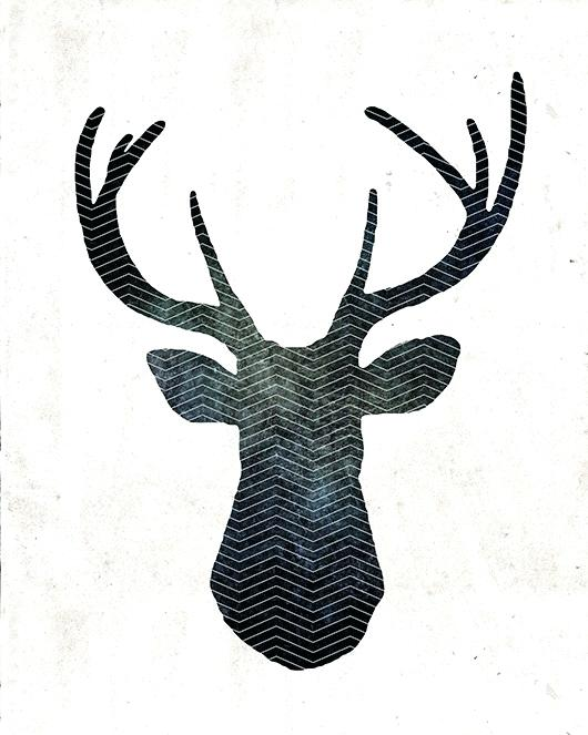 picture relating to Printable Deer Head referred to as Deer Intellect Drawing No cost down load least difficult Deer Brain Drawing upon