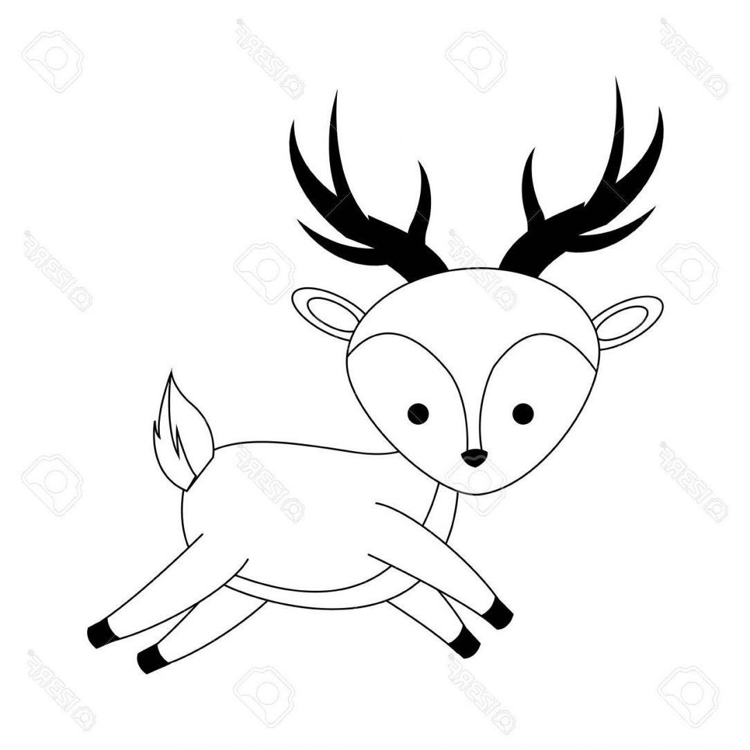1084x1084 Easy Deer Drawing Tutorial Reindeer Cool Buck Step