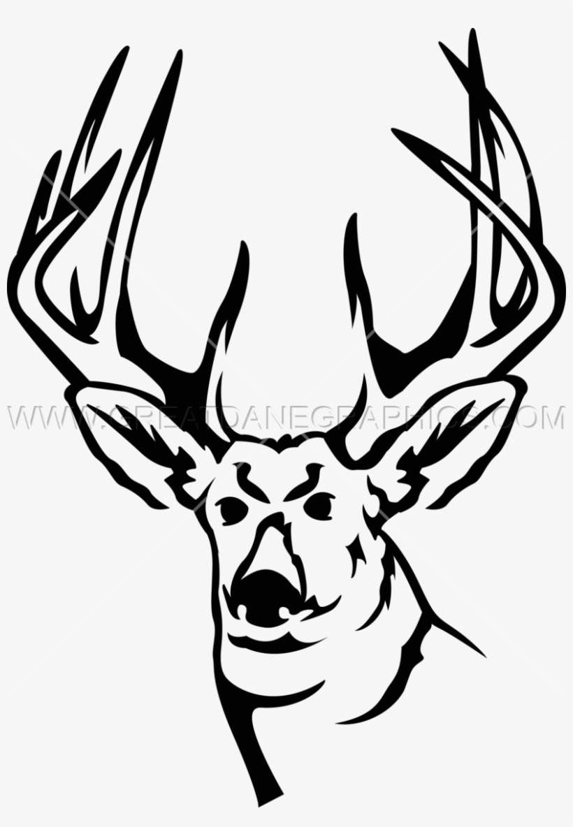820x1184 Deer Head Line Drawing At Getdrawings