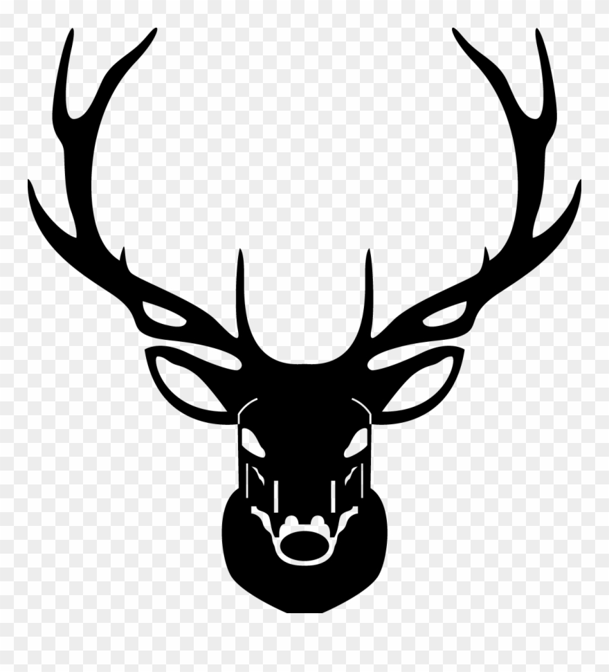 880x971 Line Drawing Elk Head Clipart
