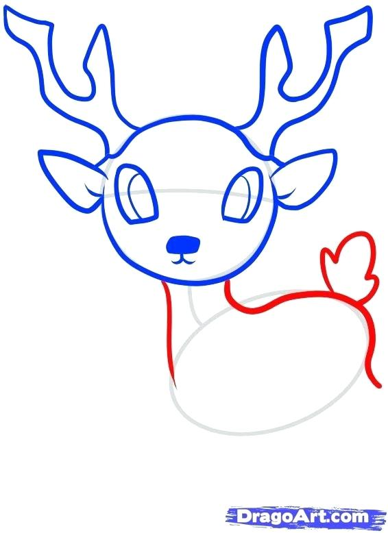 566x778 Dear Drawing Deer Pencil Line Drawing Cute Deer Face Drawing